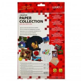 Logo foto papír, lesklý, biela, A4, 260 g/m2, 2880dpi, 10 ks, 16066, tonerový