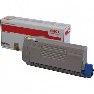 Oki MC770 (45396301), originálny toner, žltý