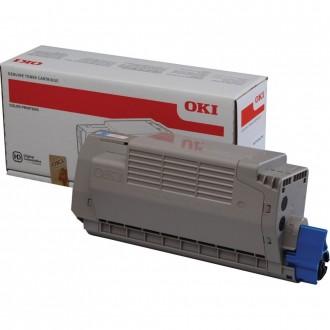 Oki MC770 (45396303), originálny toner, azúrový