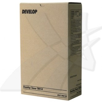 Develop TN-114Bk (8937-7860-00), originálny toner, čierny, 2 × 413 g, 2-pack