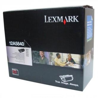 Lexmark 12A5840, originálny toner, čierny