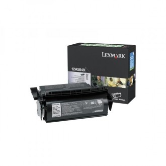 Lexmark 12A5849, originálny toner, čierny