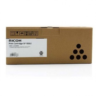 Ricoh 407166, originálny toner, čierny